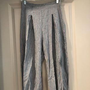 Urban Outfitters Striped Linen Pants